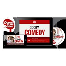 Cocky comedy lines