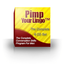 Pimp Your Lingo: Advanced Conversation Skills Training For Men