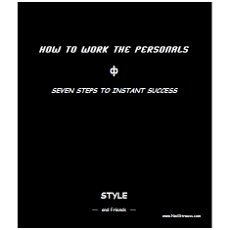 How to Work the Personals – Seven Steps to Instant Success